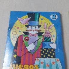 Brinquedos antigos e Jogos de coleção: ANTIGUO JUEGO Nº 2 JUEGOS MAGIA EDUCA REGALO PROMOCIONAL DE CEREALES NESTLE AÑOS 80 / 90. Lote 188548593
