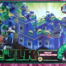 Juguetes antiguos y Juegos de colección: EXIN BLOCKS HULK DESTRUCTOR. MARVEL 2003. POPULAR.. Lote 189703723
