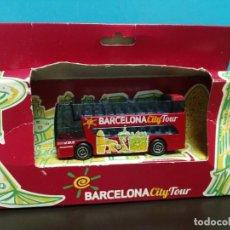 Juguetes antiguos y Juegos de colección: AUTOBÚS TURÍSTICO BARCELONA, CITY TOUR . Lote 190014257