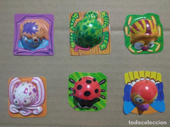 Juguetes antiguos y Juegos de colección: BOOMER - BOBOLS 1996 MEDIA COLECCION LOTE MUY DIFICILES CHICLES NO DUNKIN KINDER BOLLYCAO TAZOS - Foto 3 - 191292600