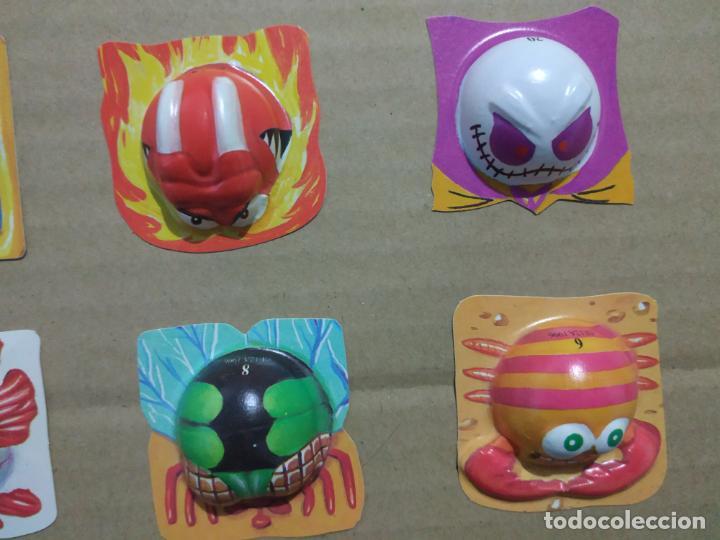 Juguetes antiguos y Juegos de colección: BOOMER - BOBOLS 1996 MEDIA COLECCION LOTE MUY DIFICILES CHICLES NO DUNKIN KINDER BOLLYCAO TAZOS - Foto 5 - 191292600