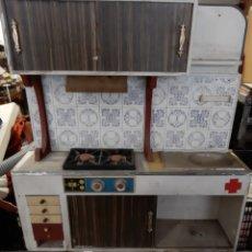 Juguetes antiguos y Juegos de colección: COCINA JUGUETE AÑOS 70. Lote 192034535