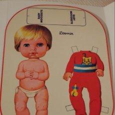 Juguetes antiguos y Juegos de colección: RECORTABLE BABY MOCOSETE. Lote 193661713