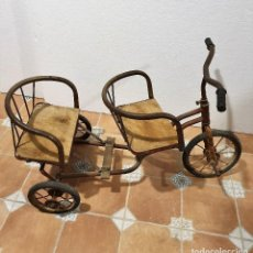 Juguetes antiguos y Juegos de colección: ANTIGUO TRICICLO. Lote 193785928