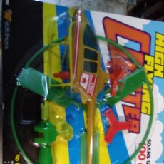 Juguetes antiguos y Juegos de colección: BLISTER JUGUETE HELICOPTERO HIGH FLYING COPTER MADE IN CHINA.GORDY TOYS AÑO 1994. Lote 193811562