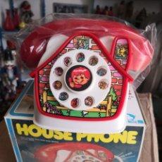 Juguetes antiguos y Juegos de colección: TELÉFONO HUCHA FORMA CASA RING RING HOUSE PHONE. JUMBOSI. Lote 193818637