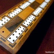 Juguetes antiguos y Juegos de colección: CONTADOR DE JUEGO DE CARTAS, INGLÉS. Lote 194073610