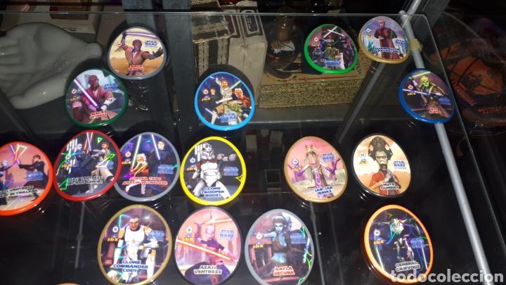 Juguetes antiguos y Juegos de colección: Lote 31 tazos diferentes STAR WARS - Foto 3 - 194230366