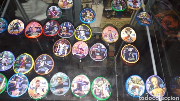 Juguetes antiguos y Juegos de colección: Lote 31 tazos diferentes STAR WARS - Foto 4 - 194230366