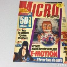 Juguetes antiguos y Juegos de colección: REVISTA MICROMANÍA MICRO MANÍA Nº 23 ELVIRA SPACE ACE IRON LORD VIAJE A TRAVÉS DEL TIEMPO SUPERDETEC. Lote 194241211