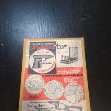 Juguetes antiguos y Juegos de colección: PNEUMA-TIR PISTOLA DE AIRE DE JUGUETE FRANCÉS AÑOS 60/70. Lote 194256873