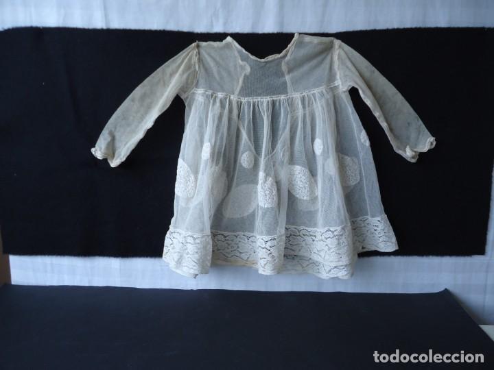 ANTIGUO VESTIDO PARA MUÑECA ANTIGUA (Juguetes - Vestidos y Accesorios Muñeca Extranjera Antigua)