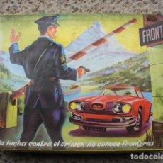 Juguetes antiguos y Juegos de colección: INTERPOL EQUIPO COMPLETO - REDONDO. Lote 194331222