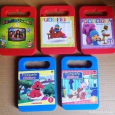 Juguetes antiguos y Juegos de colección: LOTE DVD'S INFANTILES. Lote 194397987