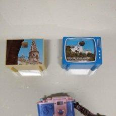 Juguetes antiguos y Juegos de colección: TELEVISORES Y CÁMARA DE JUGUETE CON VISOR DE IMÁGENES.. Lote 194492775
