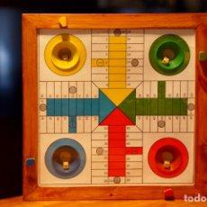Juguetes antiguos y Juegos de colección: PARCHÍS AUTOMÁTICO VINTAGE AÑOS 60-70. Lote 194527167