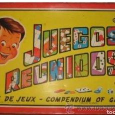 Juguetes antiguos y Juegos de colección: JUEGOS REUNIDOS 45 INCOMPLETO. Lote 194533683