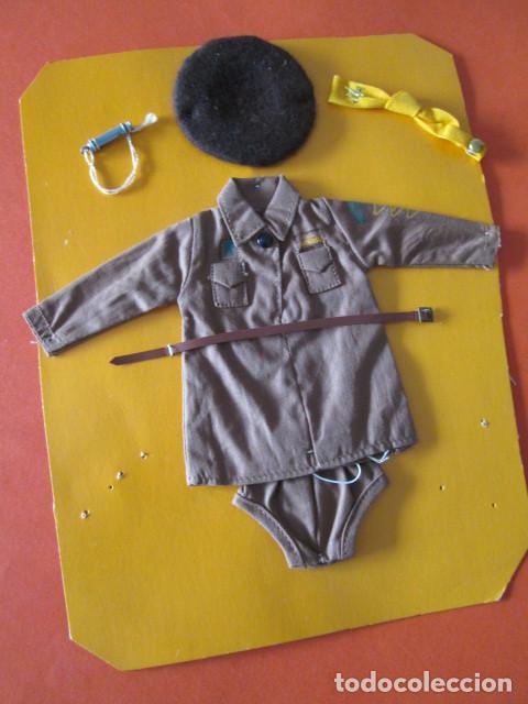 CONJUNTO BROWNIE PARA MUÑECA PATCH HERMANA DE SINDY AÑOS 60 NUEVO ORIGINAL (Juguetes - Vestidos y Accesorios Muñeca Extranjera Antigua)