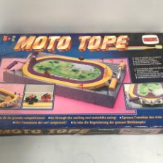 Juguetes antiguos y Juegos de colección: JUEGO MOTO TOPE. Lote 194639010