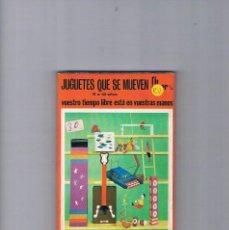 Juguetes antiguos y Juegos de colección: JUGUETES QUE SE MUEVEN FHER QUE HACER 1971. Lote 194725485