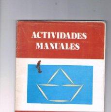 Juguetes antiguos y Juegos de colección: CARPETA ACTIVIDADES MANUALES PALILLOS I 59 SALVATELLA. Lote 194725966