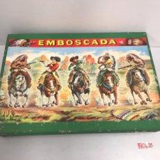 Juguetes antiguos y Juegos de colección: ANTIGUO JUEGO DE TIRO EMBOSCADA NUEVO. Lote 194882226