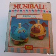 Juguetes antiguos y Juegos de colección: MUSIBALL - BOTON MAGICO - BULLICAN - SIN USAR. Lote 194892142