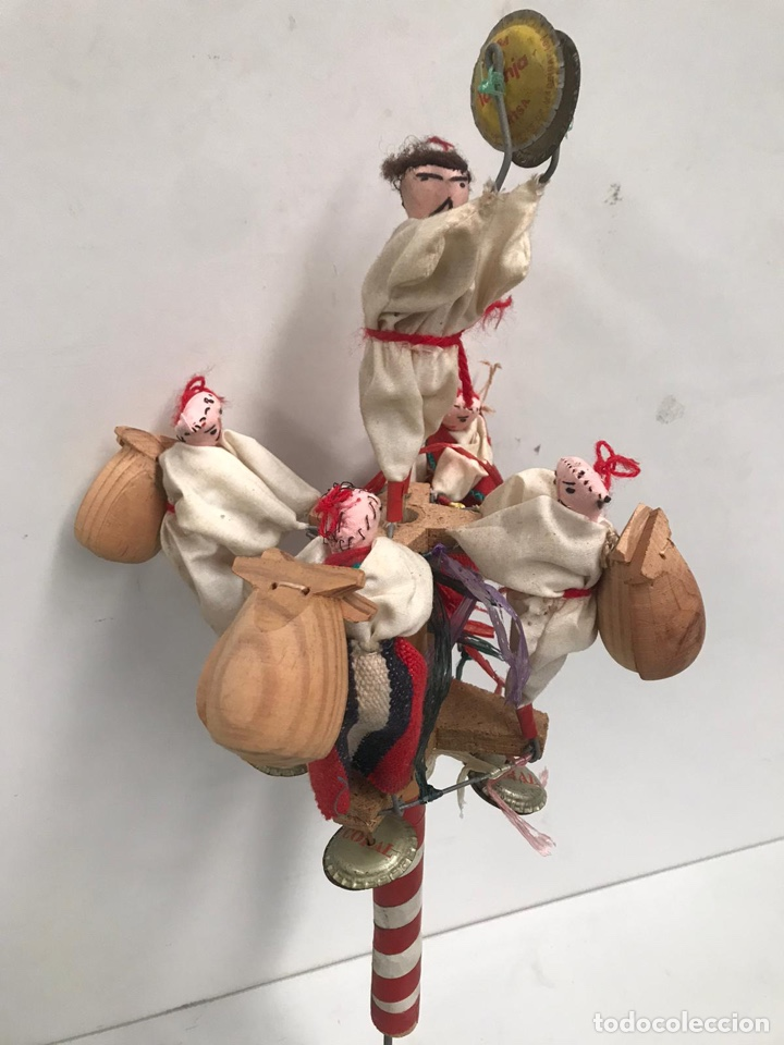 Juguetes antiguos y Juegos de colección: Antiguo juguete regional de trapo echo a mano - Foto 2 - 194894938