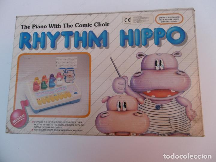PIANO - MUSICAL - RHYTHM HIPPO - BC TOYS - SIN USAR. (Juguetes - Varios)