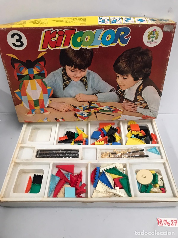 Juguetes antiguos y Juegos de colección: Kit color - Foto 2 - 194902007