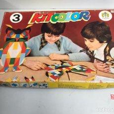 Juguetes antiguos y Juegos de colección: KIT COLOR. Lote 194902007