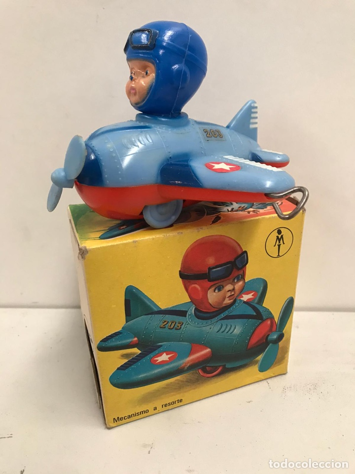 Juguetes antiguos y Juegos de colección: Antigua avión juguete - Foto 2 - 194902992