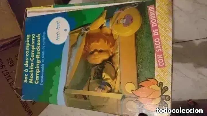 Juguetes antiguos y Juegos de colección: RAREZA COLECCIONISTAS ! Mochila Camping Para muñeca Pocas pecas original años 80 JUGUETE - Foto 2 - 195005958