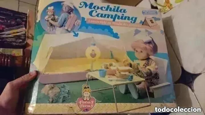Juguetes antiguos y Juegos de colección: RAREZA COLECCIONISTAS ! Mochila Camping Para muñeca Pocas pecas original años 80 JUGUETE - Foto 3 - 195005958