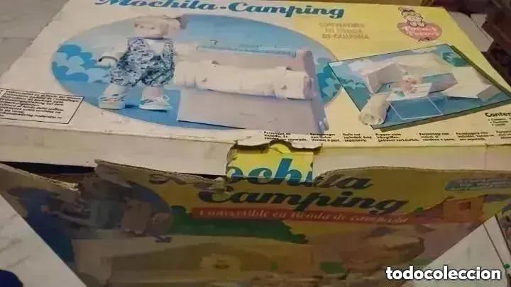 Juguetes antiguos y Juegos de colección: RAREZA COLECCIONISTAS ! Mochila Camping Para muñeca Pocas pecas original años 80 JUGUETE - Foto 4 - 195005958
