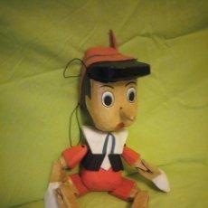 Juguetes antiguos y Juegos de colección: PINOCHO DE MADERA MARIONETA. Lote 195151236