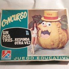 Juguetes antiguos y Juegos de colección: CONCURSO UN, DOS, TRES...RESPONDA OTRA VEZ JUEGO DE MESA. DALMAU CARLES PLA.. Lote 195242548