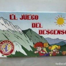 Juguetes antiguos y Juegos de colección: JUEGO TELEPIZZA EL JUEGO DEL DESCENSO . Lote 195247936
