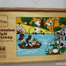 Juguetes antiguos y Juegos de colección: PUZZLE MOSAICO WALD DISNEY 48 PIEZAS GOULA. Lote 195247957