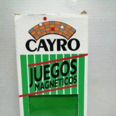 Juguetes antiguos y Juegos de colección: JUEGO MAGNÉTICO CAYRO DOMINO . Lote 195247983