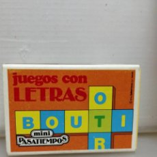 Juguetes antiguos y Juegos de colección: MINI PASATIEMPOS EDUCA AÑOS 80 JUEGOS DE LETRAS . Lote 195247998