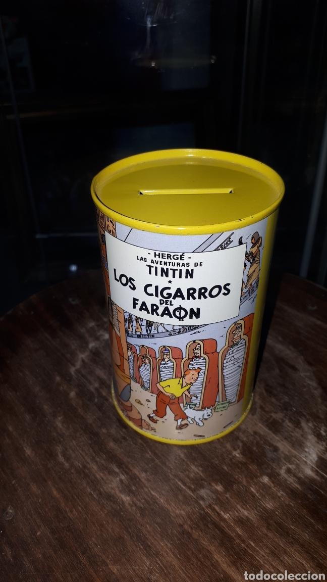 UNICA EN TODOCOLECCION HUCHA TINTIN LOS CIGARROS DEL FARAON HERGE (Juguetes - Varios)