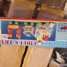 Juguetes antiguos y Juegos de colección: JUGUETE AÑOS 80/90 CIRCO TREN CIRCUS TRAIN EN SU CAJA SIN ABRIR. Lote 195419893