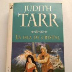 Juguetes antiguos y Juegos de colección: LA ISLA DE CRISTAL/JUDITH TARR. Lote 195438406