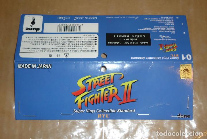 Juguetes antiguos y Juegos de colección: Street Fighter - Ryu (Dune, 2014) Figura de vinilo japonés (Sofubi) - Foto 6 - 195481015
