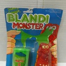 Juguetes antiguos y Juegos de colección: BLANDI MONSTER. MATTEL. NUEVO EN BLISTER. REF 6398. MISTER MUK. BLANDIMONSTER.. Lote 195551202
