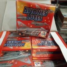 Juguetes antiguos y Juegos de colección: AVIONES PIRESA 12 ESTUCHES X 2 AVIONES LUCES 5414. Lote 195737970