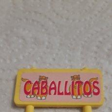 Brinquedos antigos e Jogos de coleção: CARTEL PINYPON DE FAMOSA PARQUE PARK AÑOS 80. Lote 196630267