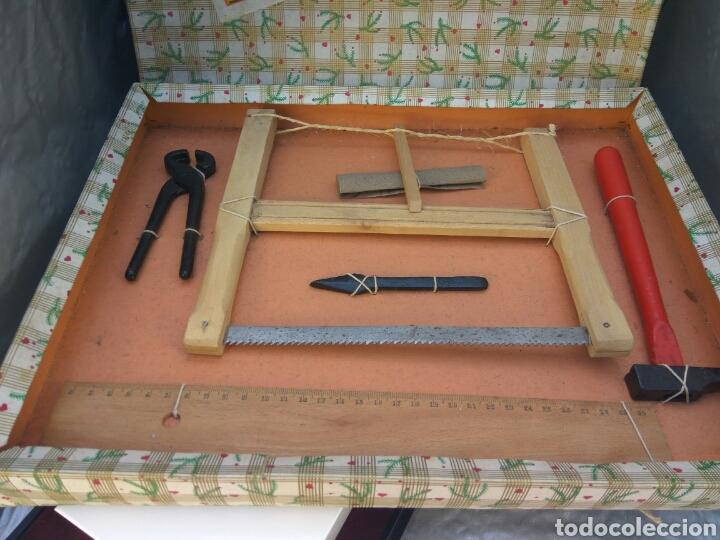 Juguetes antiguos y Juegos de colección: JUGUETES JUEGO DE CARPINTERÍA IDEAL , NUEVO - Foto 2 - 196830278