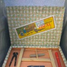 Juguetes antiguos y Juegos de colección: JUGUETES JUEGO DE CARPINTERÍA IDEAL , NUEVO. Lote 196830278
